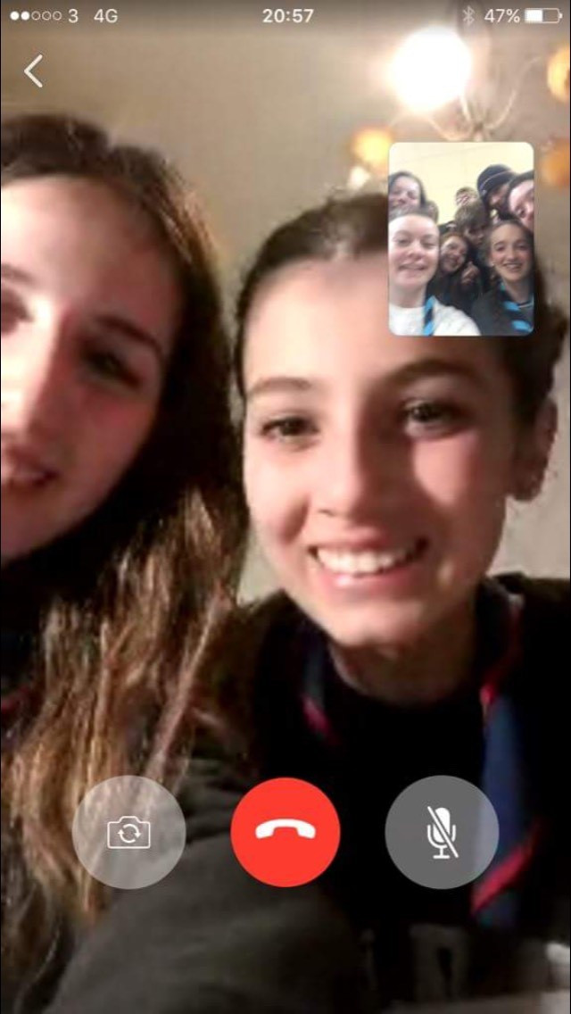 Video Call with Francesca and Simona