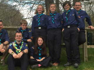 First Ever Camp @ Fingal Scout County Shield - Larch Hill