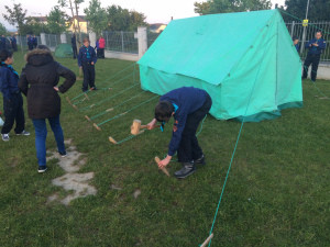 Tent Pitching @ Scouts