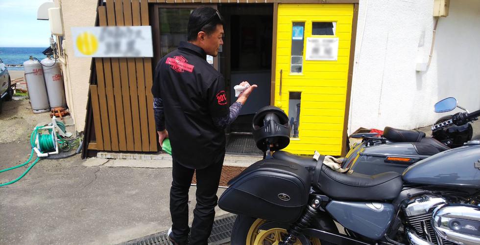 札幌→稚内→オロロンラインを走り札幌に着 2日間700キロのツーリング