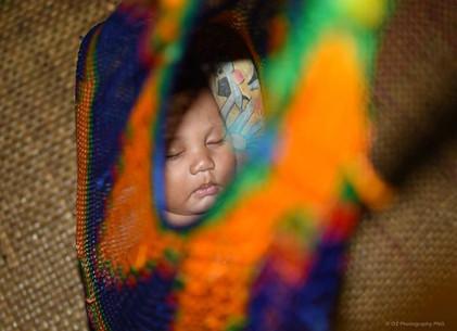 Baby in a bilum