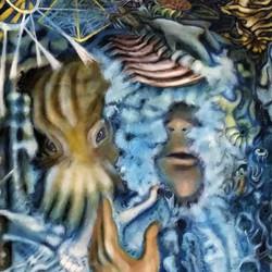 Tony Evennett - painting piece