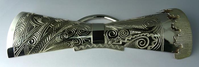 Silver Kundu Half Motif