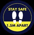 Social-Distancing-Floor-Decals_stay-safe