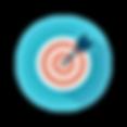 Target With Arrow On Bulls Eye