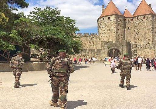 (13/07) Carcassonne : un week-end sans artifice pour les personnels de sécurité