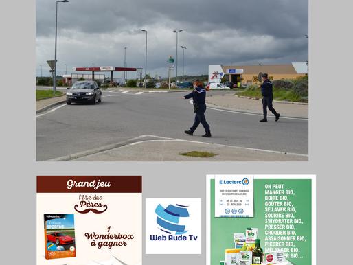 (11/06) Aude : 1253 contrôles de dépistage et 33 rétentions de permis pour le week end de Pentecôte