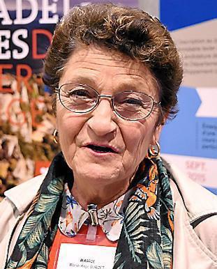 (20/02) La  magriaine Marie-Ange Burcet ambassadrice de choix du quotidien L' Indépendant.
