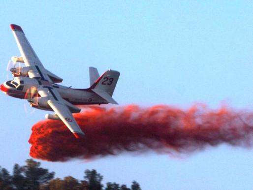 (02/08) Crash d' un bombardier d' eau dans le Gard.