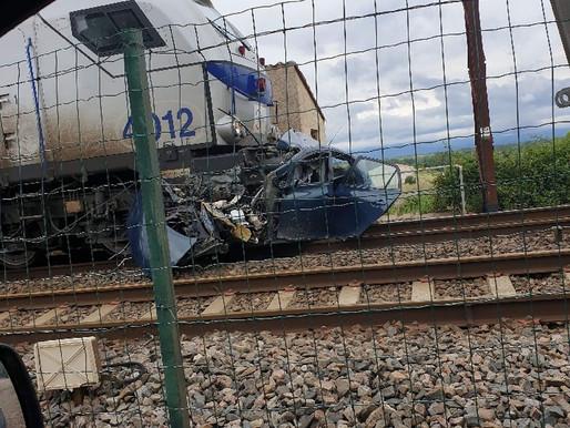 (25/05) Aude : violente collision entre un train et une voiture à Capendu