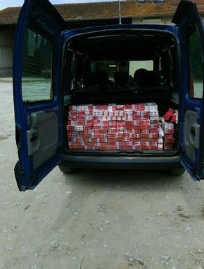 (03/07) Aude :  300 cartouches de cigarettes de contrebande saisies près de Bram