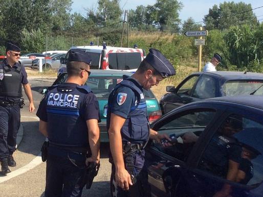 (13/02) Aude : Un automobiliste contrôlé joint à la bouche par la police