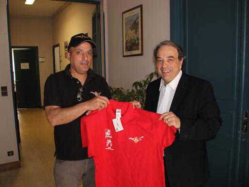 (10/05) Le limouxin Jamel Mennouni opte pour la différence en partenariat avec sa commune.