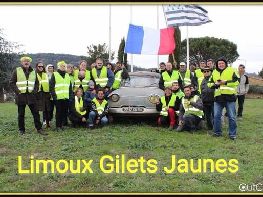 (12/02) La lettre ouverte des gilets jaunes de Limoux à la députée Mireille Robert