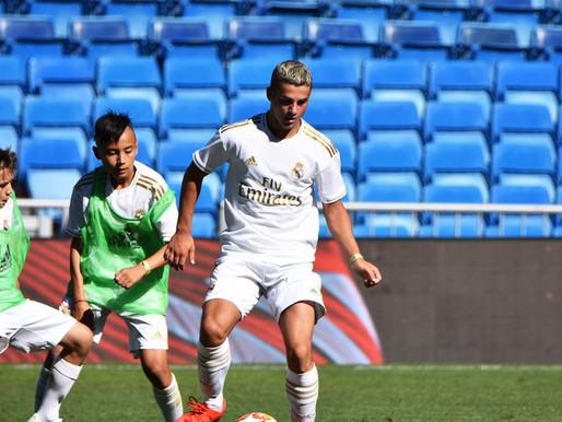 (18/07) Cailhau:  le rêve éveillé de Gabin Bustos en stage au Real Madrid