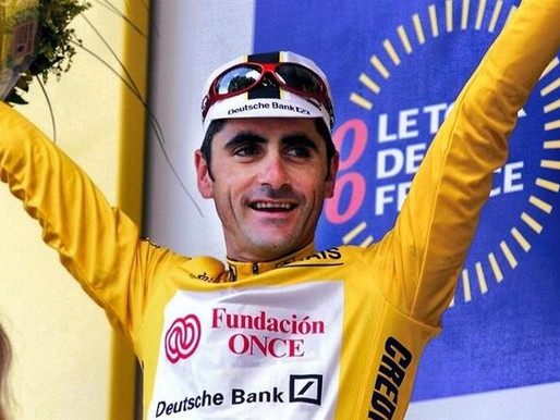 (17/04) Laurent Jalabert à Limoux pour la journée du vélo du 8 juin.