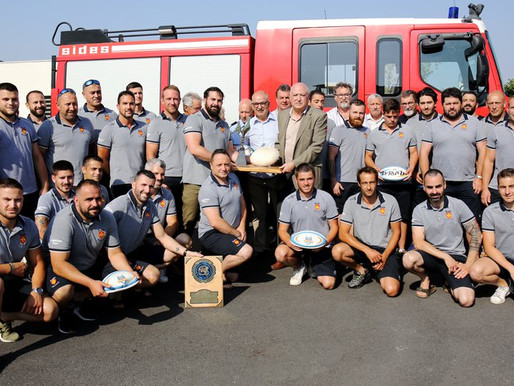 (08/07) Les sapeurs pompiers audois champion de France de rugby à XV