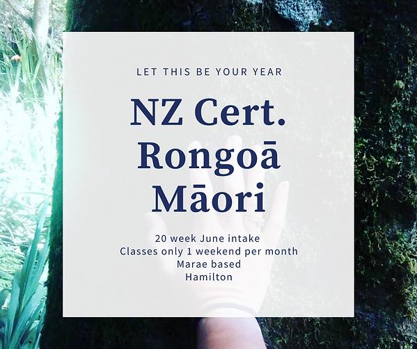 NZ Cert Rongoa Maori post.png