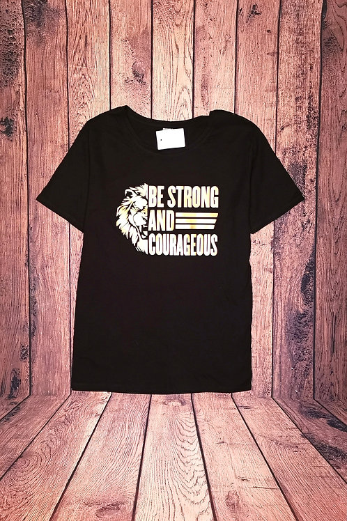 Lion Be Strong Tee