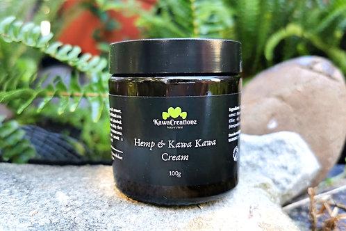 Hemp and Kawa Kawa Cream 100g