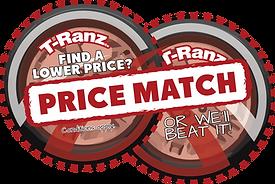 car rentals price match logo T-Ranz