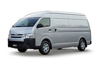 Toyota Hiace SLWB for hire