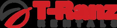 t-ranz car rentals logo red