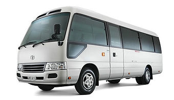 TOYOTA COASTER 2015 for hire