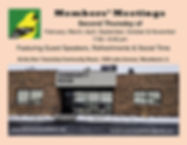Members' Meetings at Dorr Township Flyer
