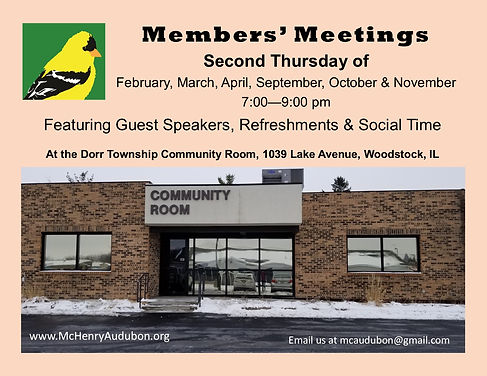Members' Meetings at Dorr Township Flyer