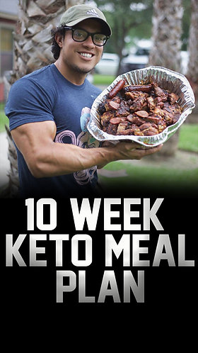 Men's Keto Cutting Program