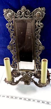 19th Century Mirror Sconce