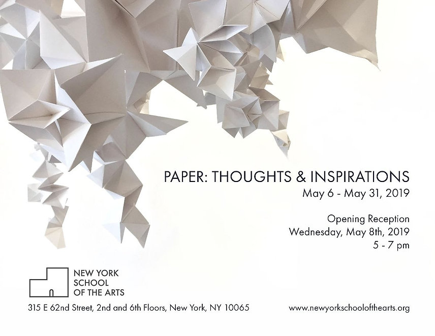 Paper: Thoughts & Inspirations