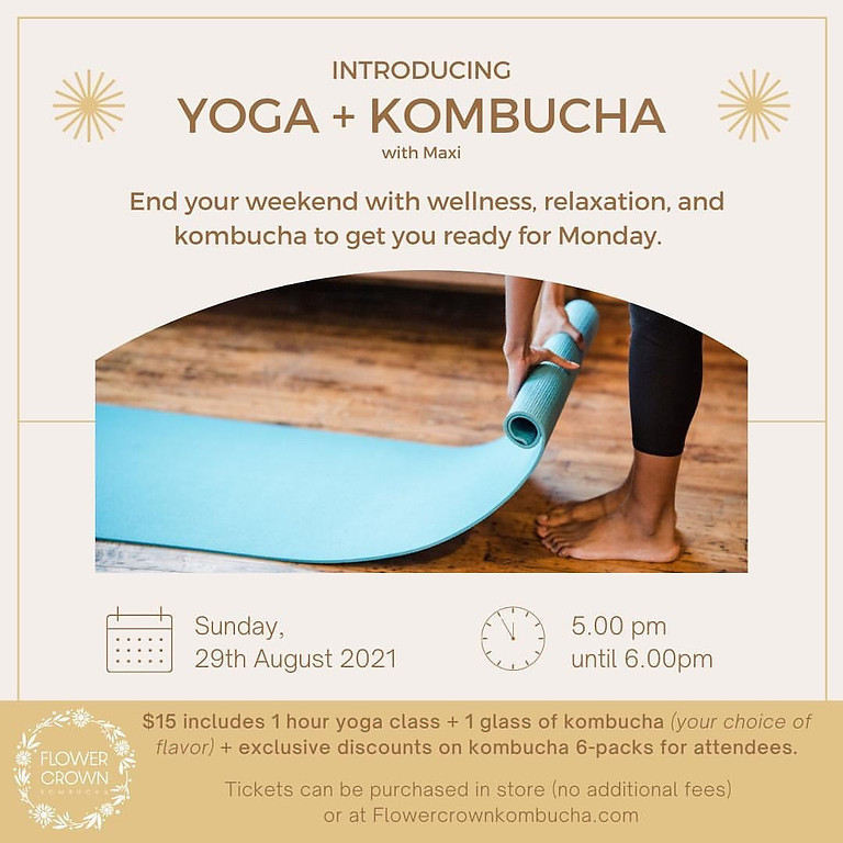 Yoga + Kombucha