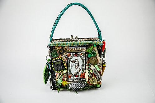 Green Trinkets clutch