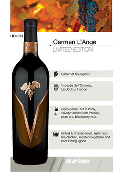 Carme L'ange limited edition
