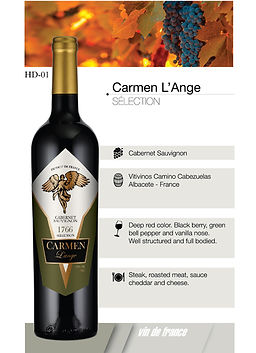 2._Carmen L'Ange Selection – Cabernet Sa