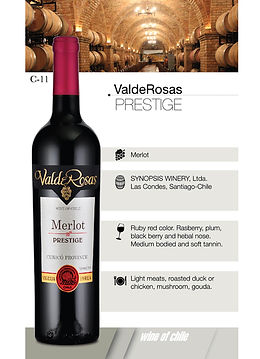 ValdeRosas - Merlot Prestige