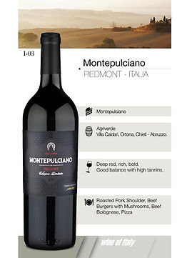 Montepulciano Piedmont ITALIA