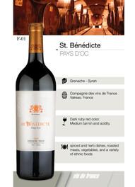 St. Bénédicte Pays d'doc – Grenache Syra