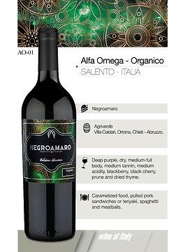 Alfa Omega – Organico