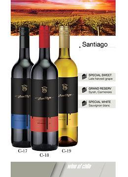 Bộ ba Santiago