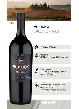 Primitivo – Salento ITALIA
