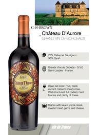 Chateau D'Aurore – Grand vin de Bordeux