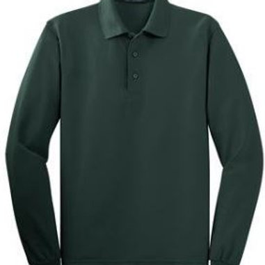 Aspen Ridge Youth Long Sleeve Polo
