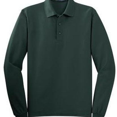 Aspen Ridge Adult Long Sleeve Polo with Logo