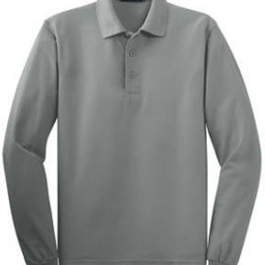 Belle Creek Adult Long Sleeve Polo