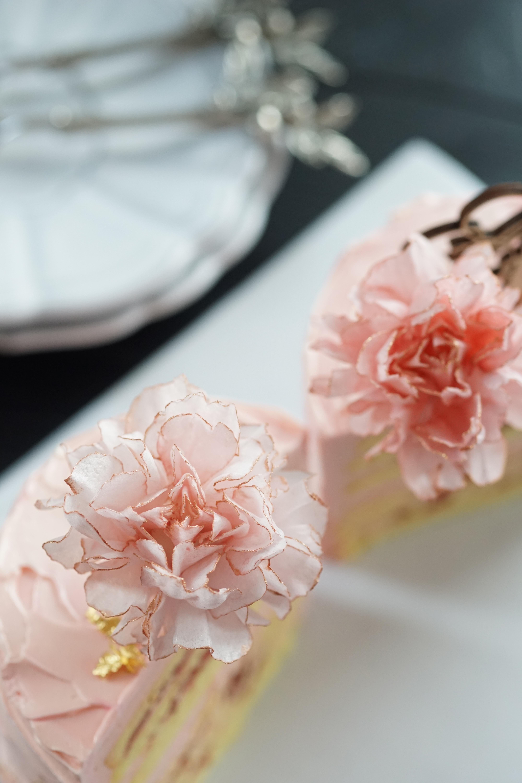 第2部  Wafer Paper Flower [Carnation] 5/15