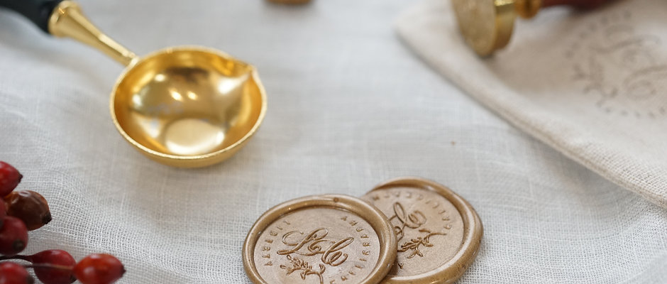 Custom made  Wax Seal Stamp (Lesson)