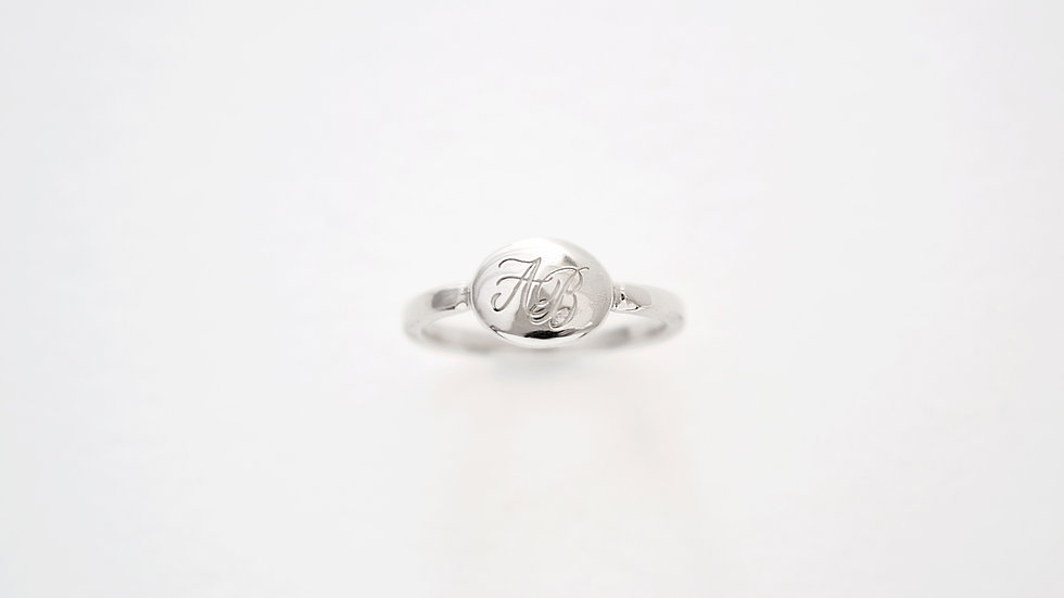 Ovale Ring Silver